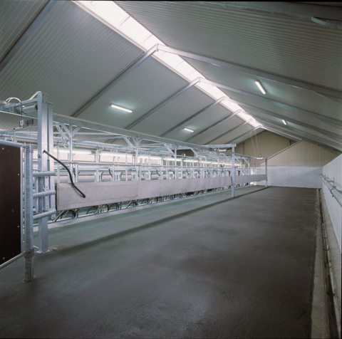 Подъемный брус доильной установки Елочка с SAC115H