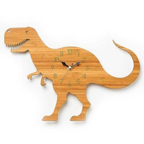 детские часы динозавр