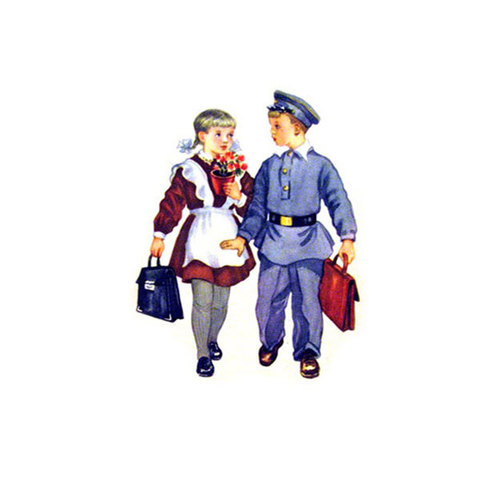 Водорастворимая бумага для мыла 1 сентября/Винтаж