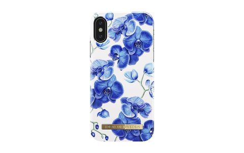 Чехол iDeal of Sweden Baby Blue Orchid IPhone X