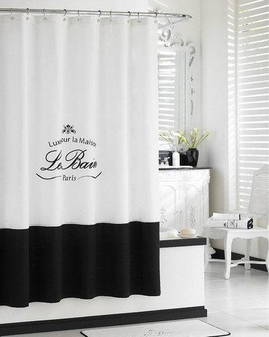 Шторка для ванной 183х183 Kassatex Le Bain White
