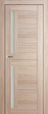 > Экошпон Profil Doors №19X-Модерн, стекло матовое, цвет капучино мелинга, остекленная