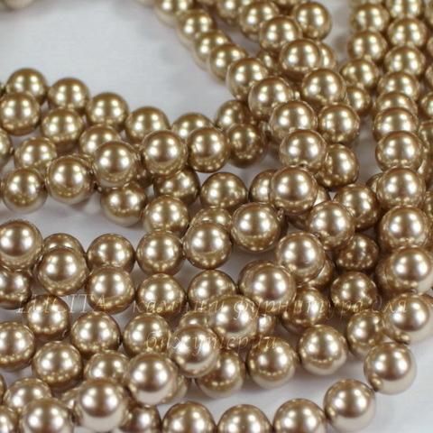 5810 Хрустальный жемчуг Сваровски Crystal Bronze круглый 6 мм, 5 шт ()