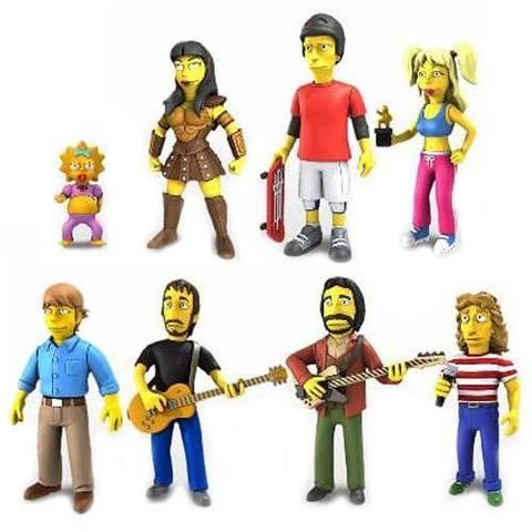 The Simpsons 25th Anniversary Mini Figure Series 02