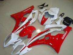 Комплект пластика для мотоцикла Yamaha YZF-R6 06-07 Красно-Белый 2