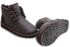 UGG Australia Men Boots Neumel Metallic Chocolate