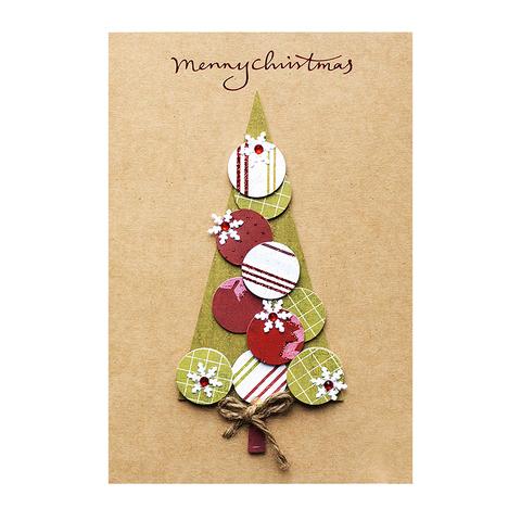 Открытка Merry Christmas Tree