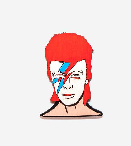 Брошь David Bowie