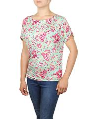 B300-15z блузка женская, зеленая