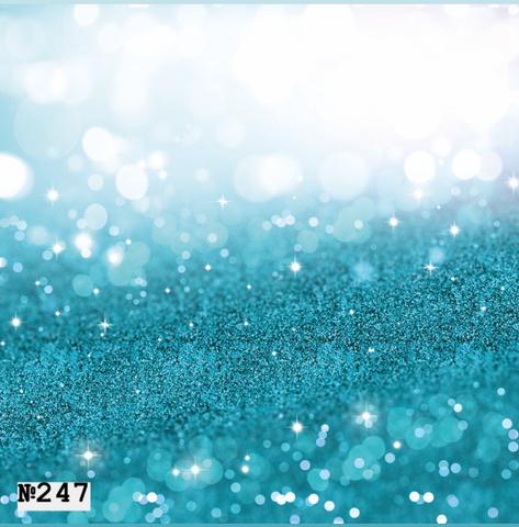 Фотофон виниловый «Голубой боке» №247