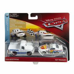 Автомобиль Disney Car Character Car Игрушечный автомобиль King & Chick Hicks белый