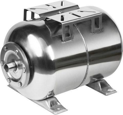 Гидроаккумулятор 24л, (гор.), нерж. сталь, мембрана EPDM, шт