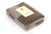 Элитный плед Imperio 57 коричневый-бежевый от Luxberry