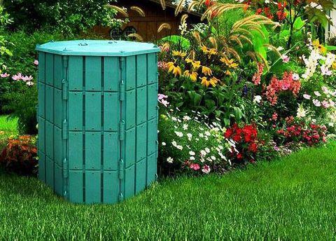 Компостер садовый 800 л с крышкой