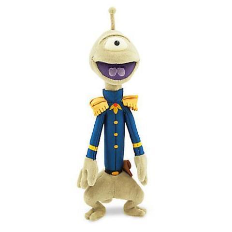 Мягкая игрушка Агент Пликли (Pleakley) из мультфильма Лило и Стич - Lilo and Stitch, Disney