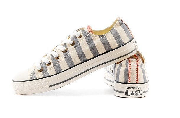 CONVERSE CHUCK TAYLOR ALL STAR LOW STRIPED GREY (015)