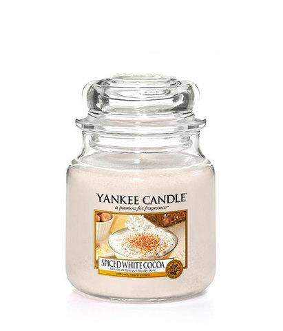 Ароматическая свеча Белое какао со специями, Yankee Candle