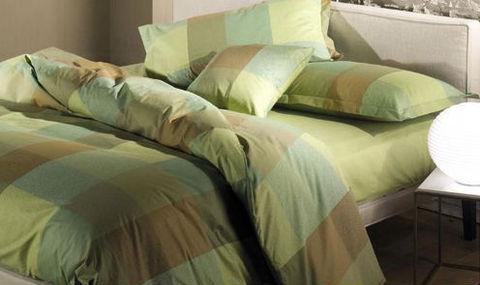 Постельное белье 2 спальное евро Caleffi Cottage коричневое