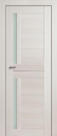 > Экошпон Profil Doors №19X-Модерн, стекло матовое, цвет эш вайт мелинга, остекленная