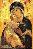 Икона Божией Матери Владимирская 04
