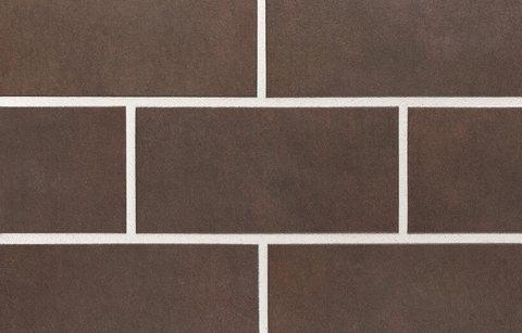 Stroeher, плитка для цоколя и фасада, цвет 640 maro, крупноформатная, 294x144x10