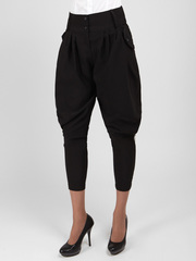 10-7341 брюки женские, черные