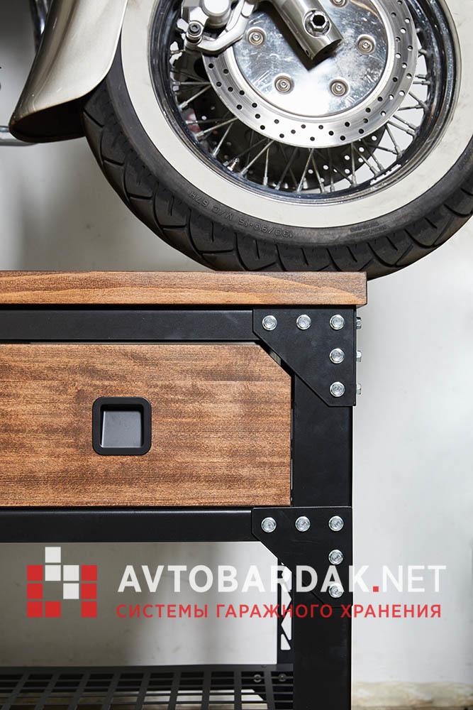 Верстак на колесах с выдвижными ящиками LoftGarage