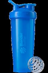 BlenderBottle Classic 946мл Шейкер классический с венчиком-пружинкой синий бирюзовый 946 мл
