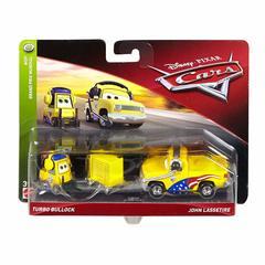Disney Cars Character Car Turbo Bullock & John Lassetire Toy Vehicle