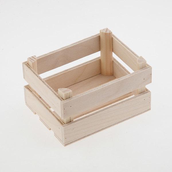 Ящик для мыла деревянный средний