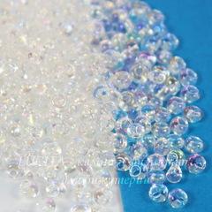 58205 Бисер Preciosa Дропс (Drops) 8/0 прозрачный радужный