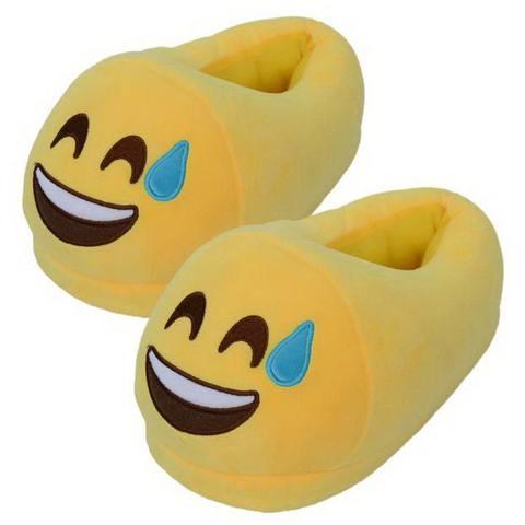 """Тапочки Emoji """"Смеющийся"""""""