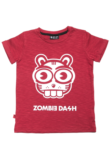 T-SHIRT SQUIRELL RED