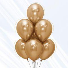 S 5 Зеркальные шары Рефлекс Золото / Reflex Gold / 50 шт. /