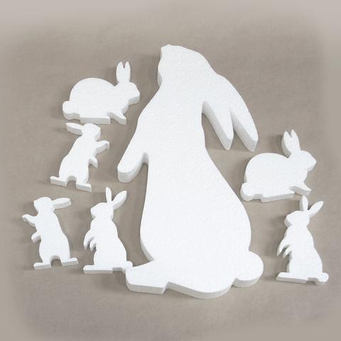 Набор заготовок для творчества - кролики