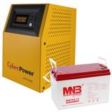 Комплект на базе инвертора CyberPower 1 кВА / 0,7 кВт - фотография