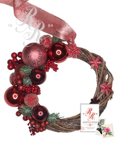 Рождественский венок 17