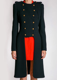 Пальто из шерсти и кашемира ALEXANDER MCQUEEN