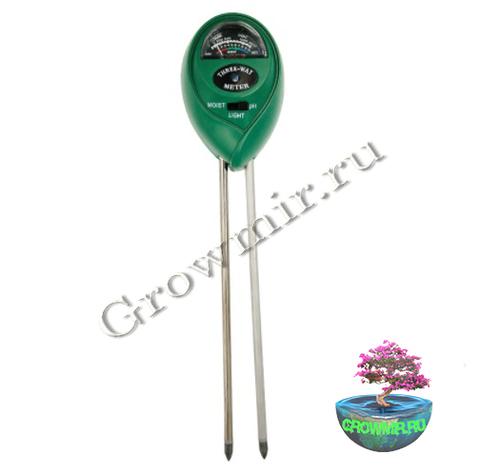 ЕТР-301, Измеритель влажности, кислотности и освещенности почвы