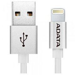 Кабель ADATA Lightning-USB для iPhone, iPad, iPod (сертифицирован Apple) 1м