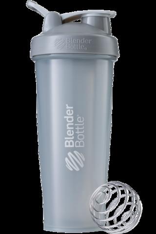 BlenderBottle Classic946мл Шейкер классический с венчиком-пружинкой серый-графит серый-графит 946 мл