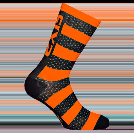 Sixs, Теплые термо-носки c мериносом LUXURY MERINOS, оранжевый