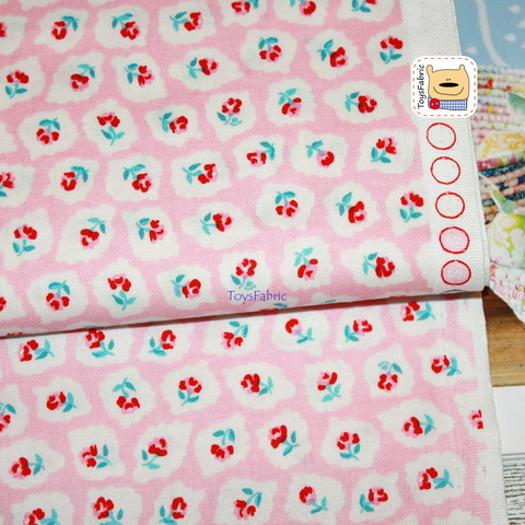 Американский хлопок 20997 (розы на розовом) 45х55см