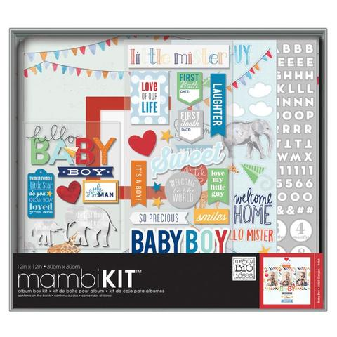 "Альбом  с наполнением Me & My Big Ideas Boxed Album Kit -30х30 см"" -  Cool Baby Boy"