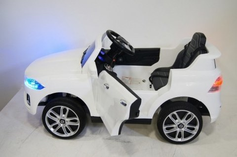Детский электромобиль Rivertoys JAGUAR P111BP белый