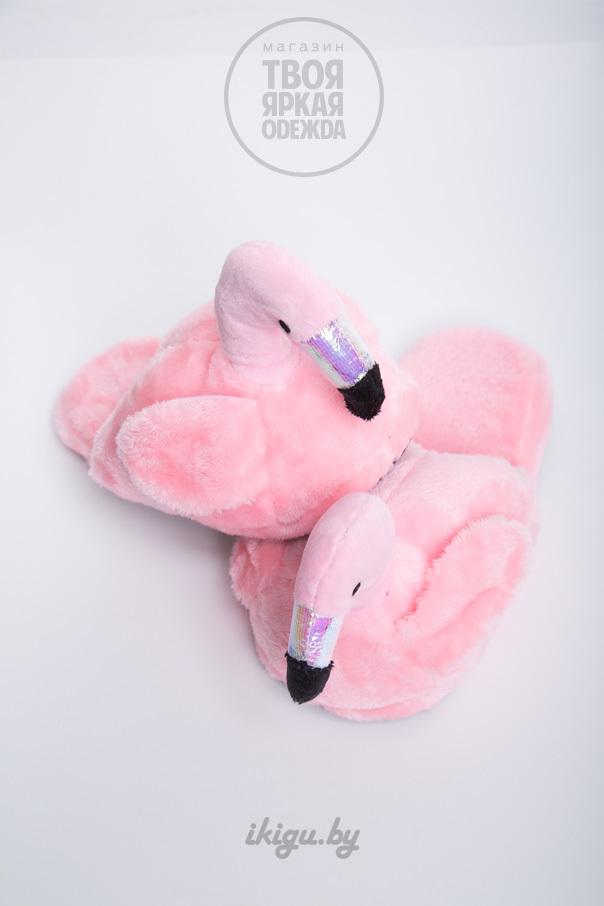 Тапочки Тапочки Фламинго Нежно - Розовые фламинго-1.jpg