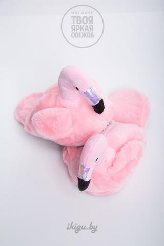 Тапочки Фламинго Нежно - Розовые