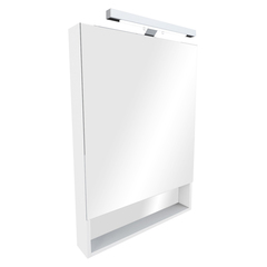 Зеркальный шкаф Roca The Gap 70cm (белый) ZRU9302749