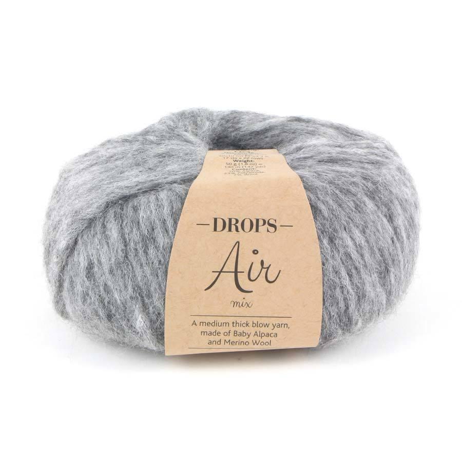 Пряжа Drops Air 04 серый