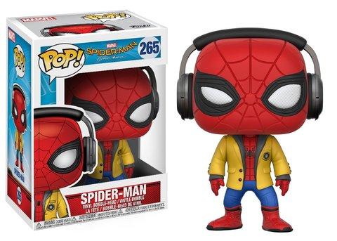 Funko POP! Bobble: Spider-Man Homecoming: Spider-Man w/ Headphones